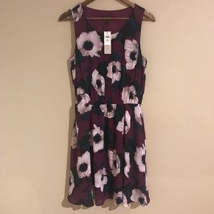 Banana Republic Floral Midi Dress